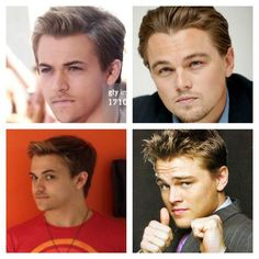 Hunter and Leo look SO alike!!