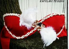 Tahitian Bra Top  Tahitian Dance Costume  by KapiolaniDesigns, $70.00
