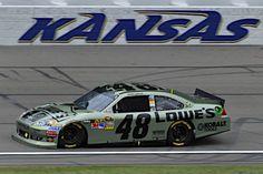 Jimmie Johnson - 3rd at Kansas Speedway
