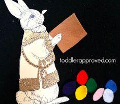 books, egg crafts, craft activities, jan brett, felt board, book clubs, easter eggs, blog, easter bunny