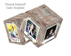 CLEARANCE 4x4 Artsy Couture Cube Decor by FotoCreationsByM on Etsy cute centerpiece ideas