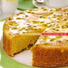 Receita de Bolo de maracujá  Passionfruit cake