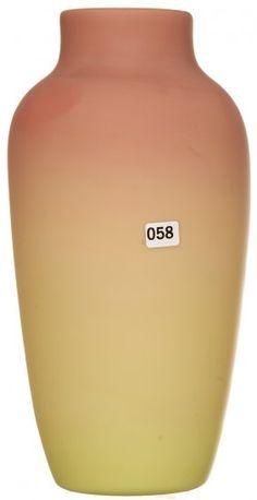 MT. WASHINGTON BURMESE Plush Finish Vase - 12 1/2 inch HOA