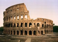 The Colosseum, Rome, Italy, ca. 1896 by trialsanderrors, via Flickr