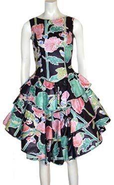 Vintage Barboglio Cristina Jan 80s Dress