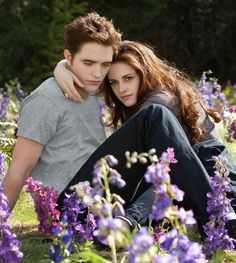 """Breaking Dawn - Part 2""  Edward and Bella"