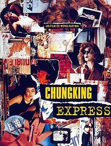 Chungking Express is a 1994 Hong Kong film written and directed by Wong Kar-wai.