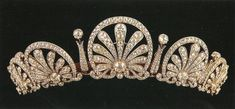 honeysuckl tiara, princess, crown jewel, kinski honeysuckl, diamond, circa 1870, honeysuckle, crownstiarasroy jewelri, royal jewels