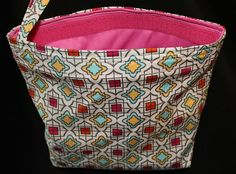 Large ReUseable Snack Bag by kustomkate on Etsy, $8.75