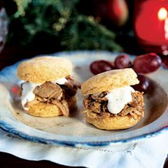 Alabama Pulled Pork Sandwiches with White Barbecue Sauce | MyRecipes.com