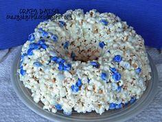 Popcorn cake. I will make.