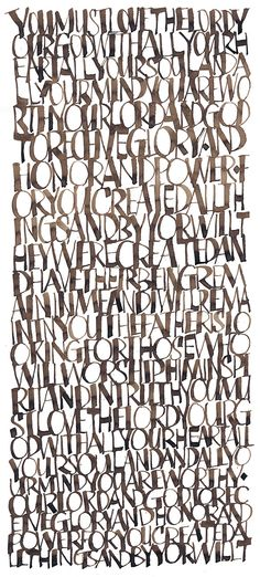 calligraphy by rod sawatsky