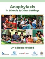 Anaphylaxis in Schools & Other Settings (2nd Edition Revised)  https://secure.anaphylaxis.ca/en/shop/books.html/shopping/view-category/c/5