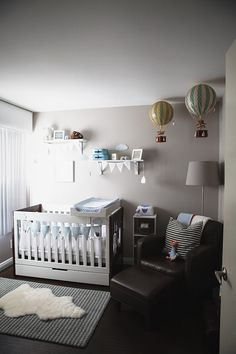 Adorable Travel Inspired Nursery with Babyletto Mercer 3-in-1 Convertible Crib #love