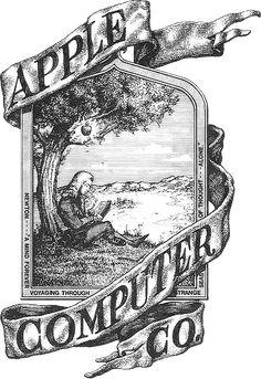 apples first logo!