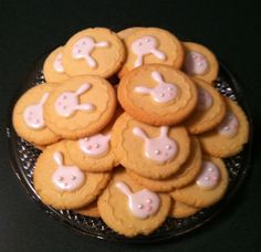 Easter Cookies with Sweet Pressed Cookie Stamps!