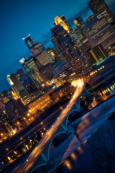 Minneapolis and St. Paul, Minnesota