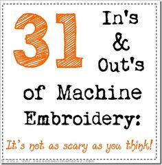 Day 3:Machine Embroidery Software