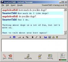 AIM- aol instant messenger