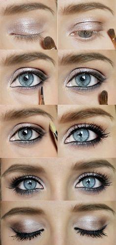 Shimmery bright eyes