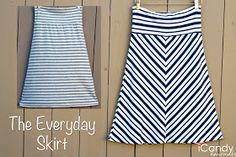 Everyday Basics 1: The Everyday Skirt - (tutorial and pattern)