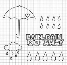 Rainy Days Free Cut File