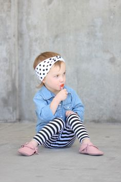 DIY Headwrap Bands Tutorial - instructions for toddler, girls and womens sizes - delia creates