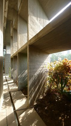 AD Classics : Mill Owners' Association Building by Le Corbusier in Ahmedabad (Gujarat, India) / @ArchDaily | #arquitectonico #india