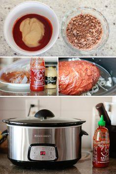 Sriracha Pulled Pork Bahn Mi