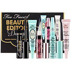 Too Faced Beauty Editor Darlings Set -  #sephora