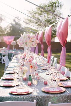 Pink rustic elegant wedding    (Photography by ginameola.com)