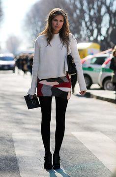 Dasha Zhukova in Milan | Street Fashion | Street Peeper | Global Street Fashion and Street Style