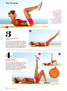 Ab work out: Part 2