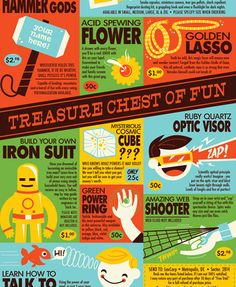 """Treasure Chest of Fun"" by Dave Perillo is more like Superhero Fun!!!"