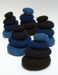Rowland Ricketts Indigo wool stones
