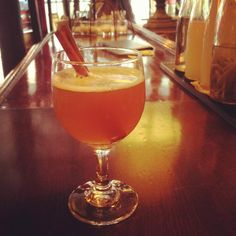 FrankenRye - Organic Apple Cider, Frangelico and Bulleit Rye