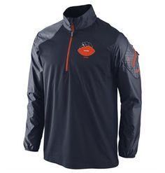 Chicago Bears Alternate Defender Half Zip Jacket