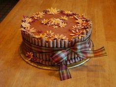 chocolates, thanksgiving cakes, autumn cake, homemade cakes, food, coffee, cake pictur, thanksgiv cake, sweet cakes