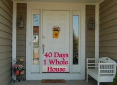 40 Days 1 Whole House Organized   Organize 365