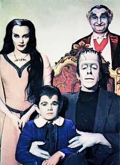 The Munsters, 1950's tv show...reruns in the 70's ...my favorite after school show