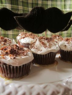 Manly Cupcakes {Recipe} -  #Cupcake #Recipe #FathersDay