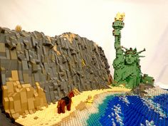 Lego: Planet of the apes.
