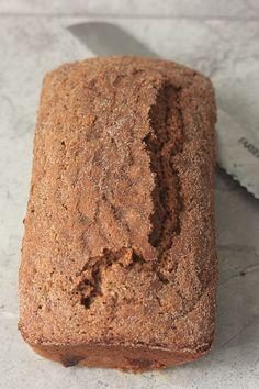 Apple sauce oat bread.
