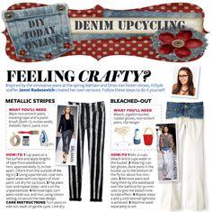 DIY Today Online: DIY Upcycling | Denim Jeans