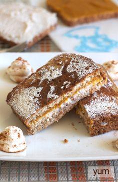 Pumpkin Stuffed French Toast   FamilyFreshCooking.com