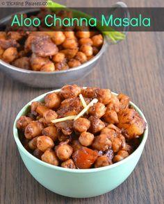 Potato and Chickpea Curry #vegan #sidedish
