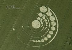 Crop Circle Images 2012 - Photography by Steve Alexander Подреждане...