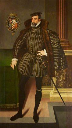 Portrait of Henry Herbert (1538–1601), 2nd Earl of Pembroke.
