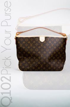 Louis Vuitton - Delightful PM Monogram. Go to wkrq.com to find out how to play Q102's Pick Your Purse!