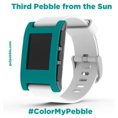 "Steve P. on Kickstarter says, ""Too many good colors to have to pick, but here's another: 'Third Pebble from the Sun.'"""